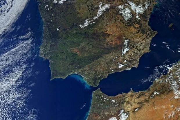 Iberian Peninsula © Copernicus data (2016)