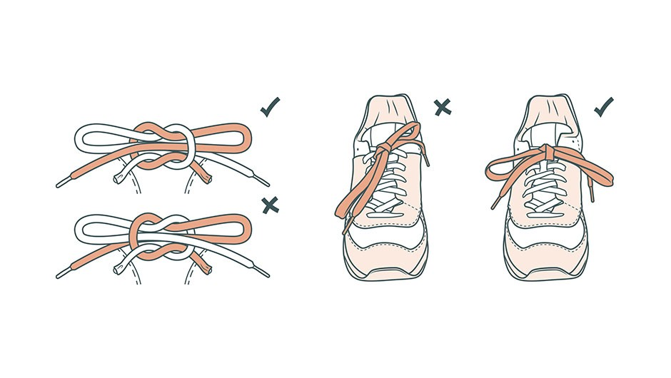 Is there a way to tie shoelaces to stop them coming undone? © Moron Eel