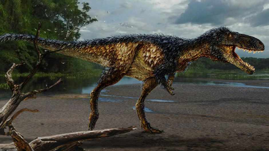 Newly discovered species reveals how the T. Rex became king of the dinosaurs © Todd Marshall