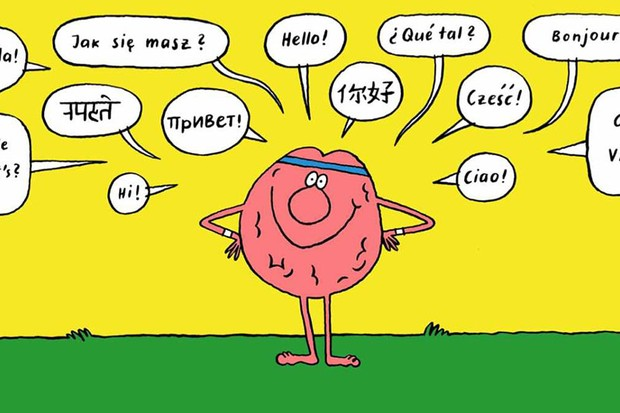 Why being bilingual helps keep your brain fit © Nadine Redlich