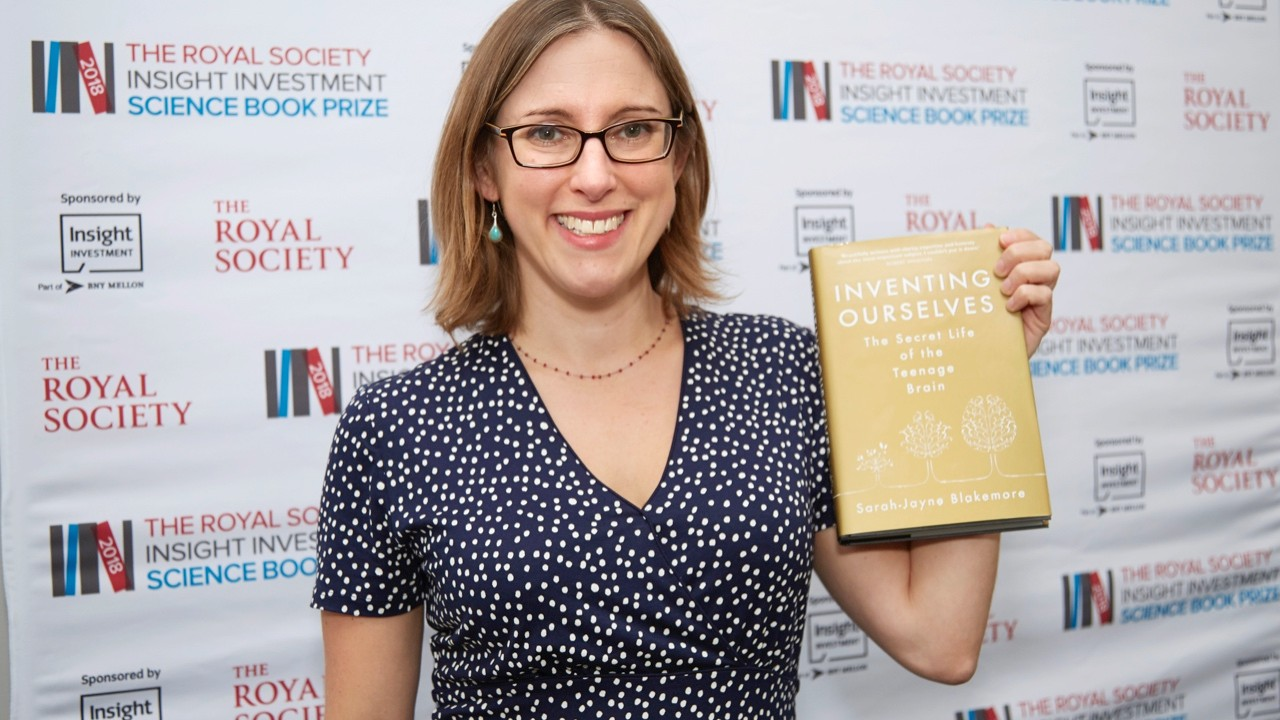 Inventing Ourselves: The Secret Life of the Teenage Brain by Sarah-Jayne Blakemore is winner of the 2018 Royal Society Insight Investment Science Book Prize (£20, Doubleday)