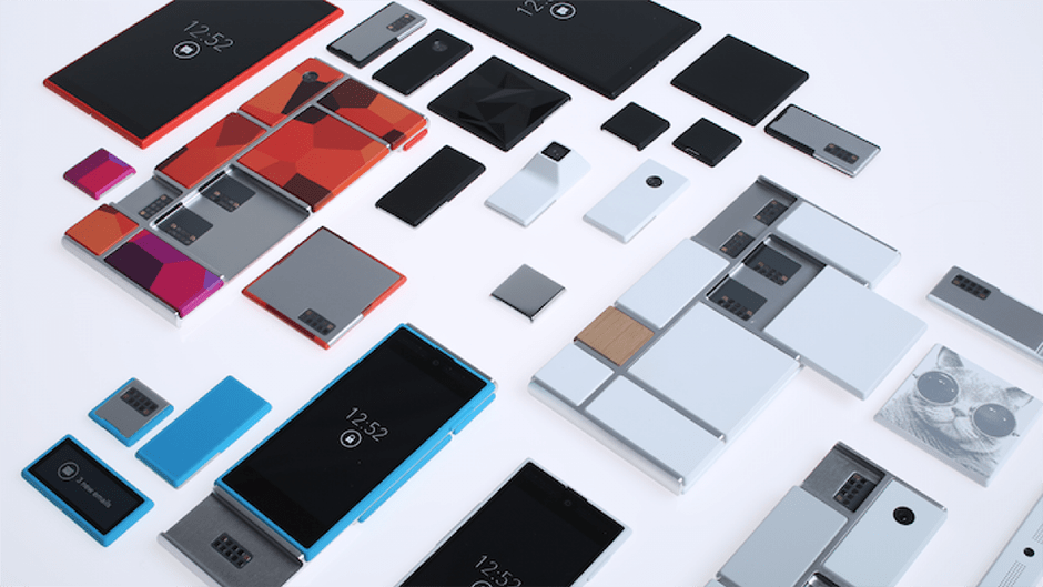 Preview: Google Ara modular phone © Google