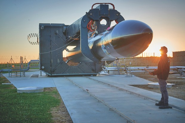Rocket Lab's Electron rocket is a suitable launch vehicle for commercial small satellites and has been successfully tested in New Zealand © Rocket Lab