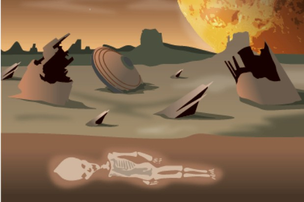 The thought experiment: What would happen if aliens contacted us? © Acute Graphics