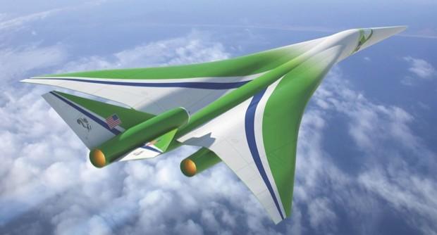 The Lockheed Martin N+2: supersonic travel without the boom © NASA/Lockheed Martin