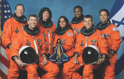 The crew of the ill-fated Columbia mission (credit: NASA)