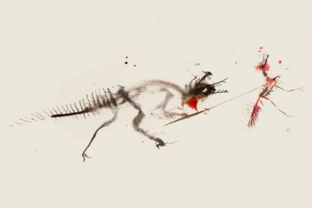 Dinosauroid cave art © CM Kosemen and Simon Roy.