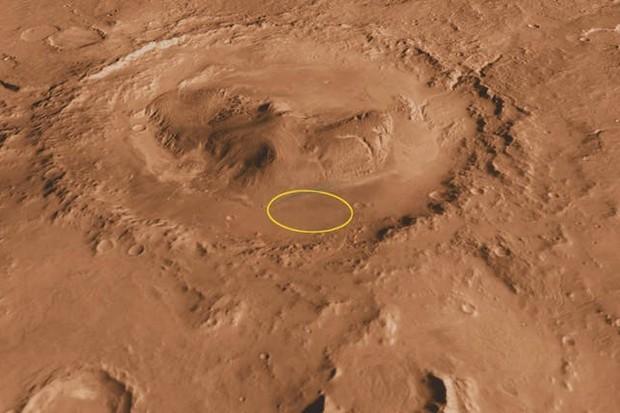 Gale crater on Mars © NASA/JPL-Caltech/ASU/UA