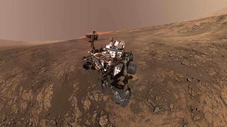 The Curiosity rover on Mars has been busy © NASA/JPL-Caltech/MSSS
