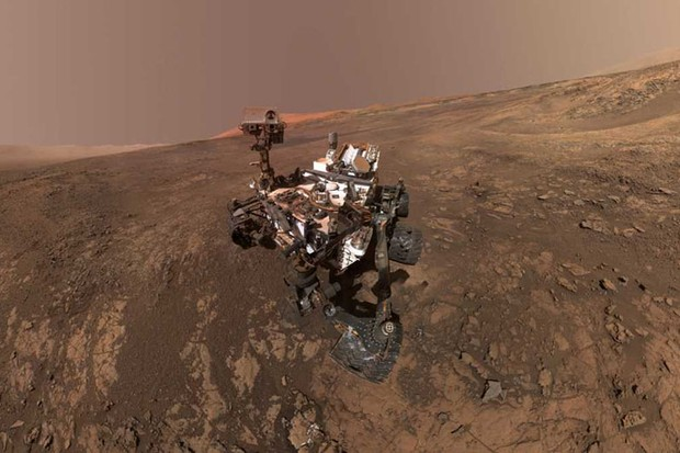 The Curiosity rover on Mars has been busy © NASA/JPL-Caltech/MSSS