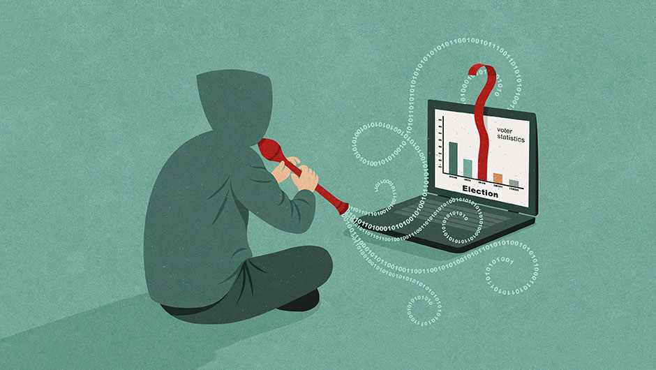 How to stop election hacking © John Holcroft