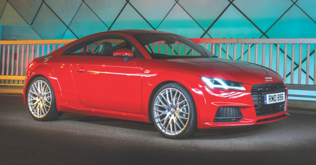 Audi TT, audi.com, from £29,810 (image: Newspress)