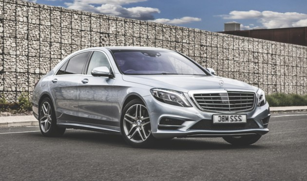 Mercedes-Benz S350, mercedes-benz.com, from £58,440 (image: Newspress)