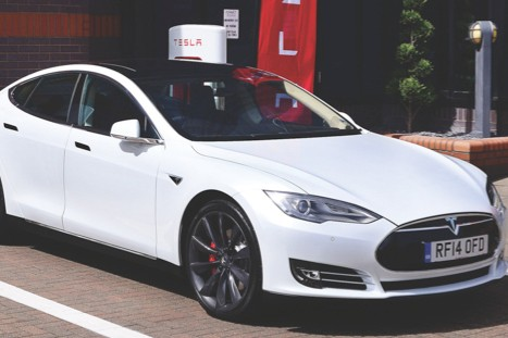 Tesla Model S, teslamotors.com, from £54,500 (image: Newspress)