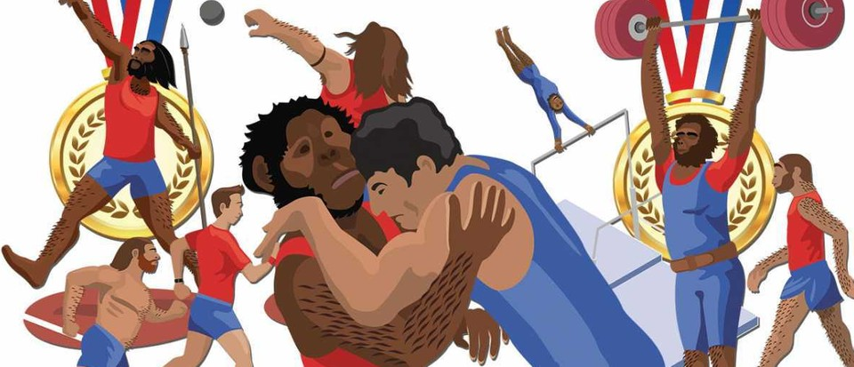 The Hominin Games: could we beat our ancestors at athletics?