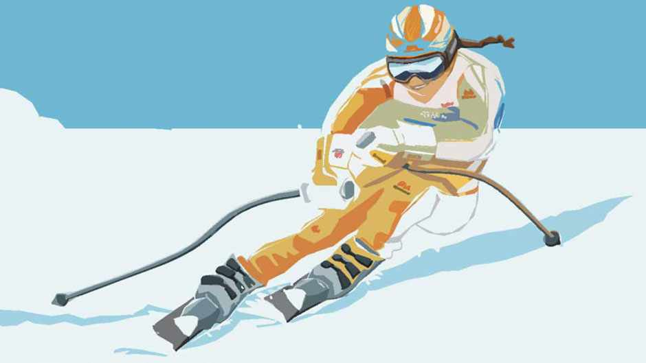How to win at winter sports © Acute Graphics