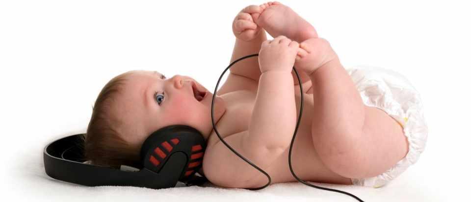 Music helps develop baby brains