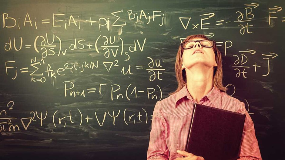 Struggling with maths? You're not alone... © iStock