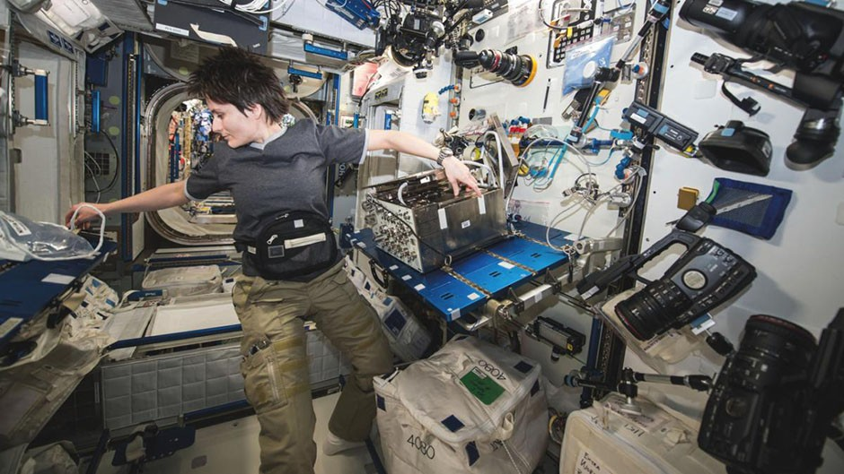 Is there air conditioning on the ISS? © NASA