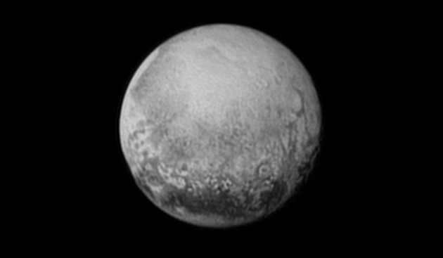 New Horizons took this image of Pluto on July 11 2015, just three days before its historic fly-by (credit: NASA/JHUAPL/SWRI)