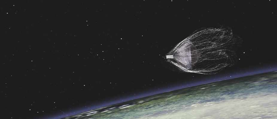 Net successfully snares space junk in practice run