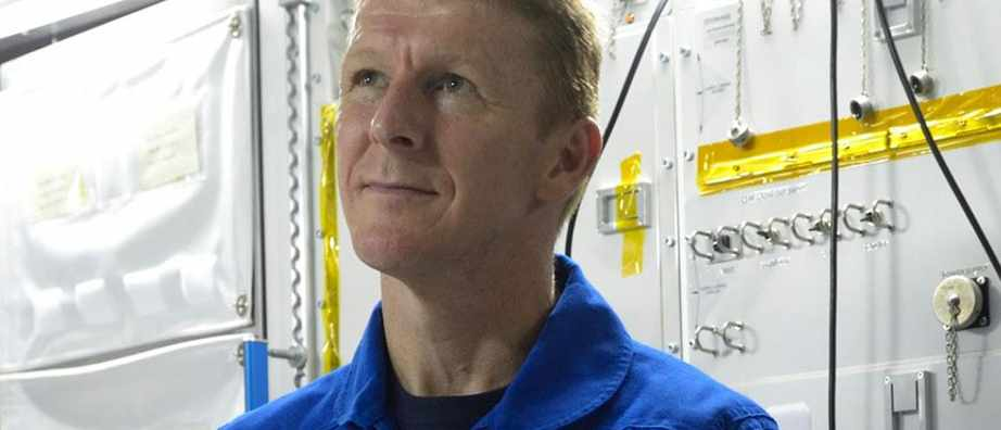 Tim Peake photographed at the European Astronaut Centre © Paul Avis/BBC Focus Magazine