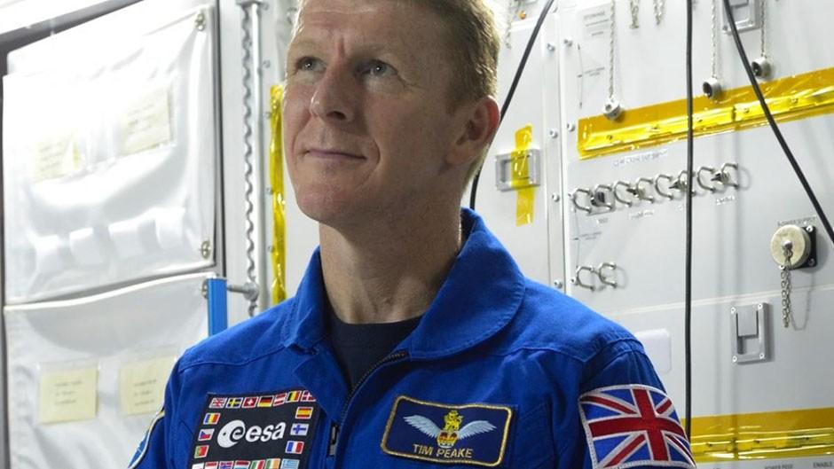 Tim Peake photographed at the European Astronaut Centre © Paul Avis/BBC Focus Magazine