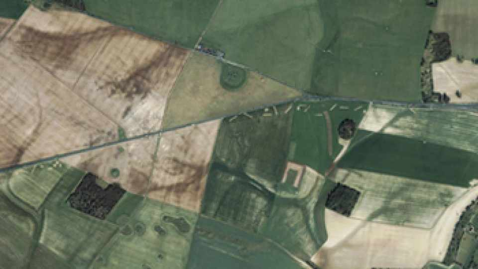 Satellite photography helps uncover lost city of Altinum © University of Padua