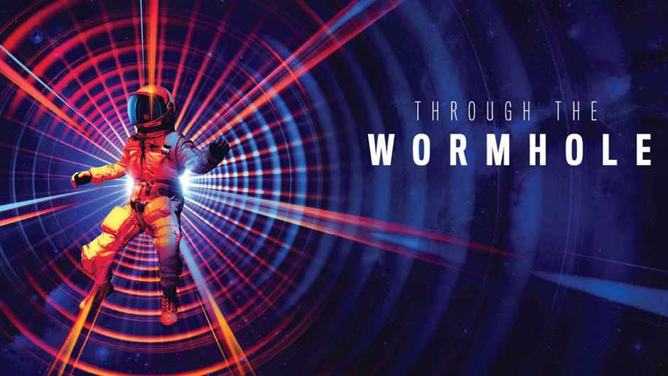 Through the wormhole ©  Andy Potts
