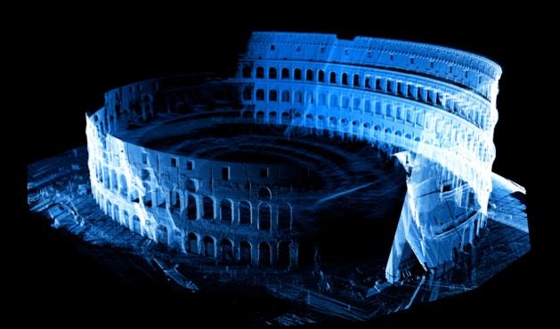 Three-dimensional laser scanning has unlocked some of the secrets of the Colosseum © National Geographic