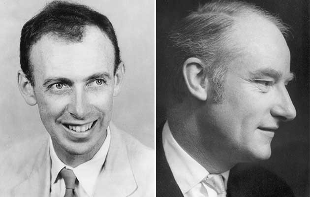 James Watson & Francis Harry Compton Crick (© Getty)