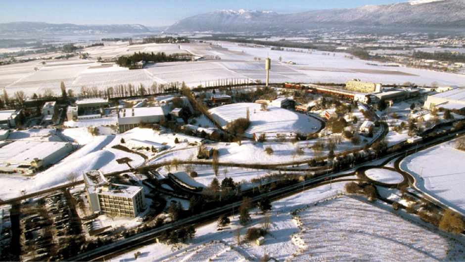 The Intersecting Storage Rings © CERN