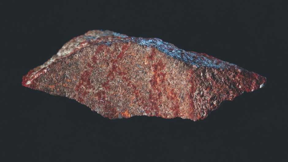 Oldest known drawing found in South African rock