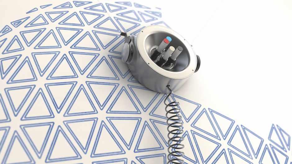 Scribit Wall-Writing Robot