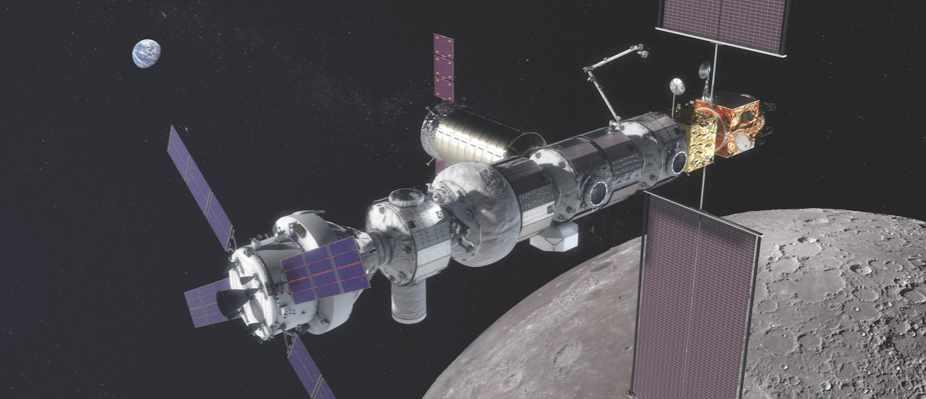 Lunar Orbital Platform-Gateway: the next space station © NASA