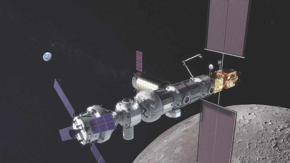Lunar Orbital Platform-Gateway: the next space station © NASA