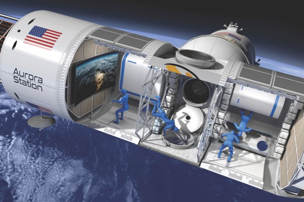 Aurora space station © Orion Span