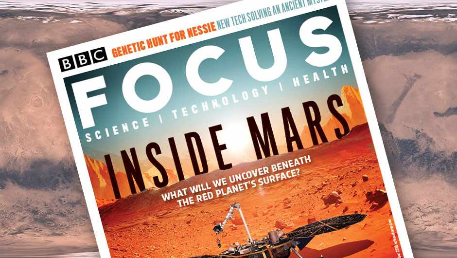 Inside Mars: What will we uncover beneath the Red Planet's surface? © Andy Potts, NASA