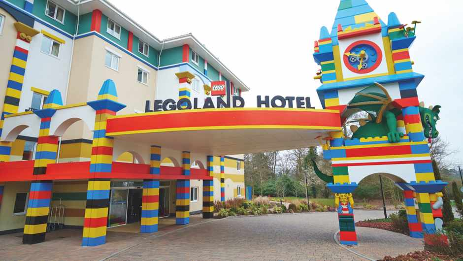 Why aren't large Lego bricks used to build full-size buildings? © Alamy