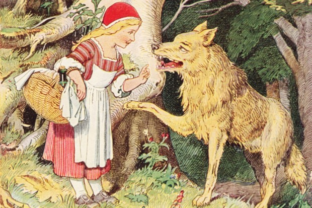 Big, bad wolves are renowned in folklore for causing trouble for characters like Little Red Riding Hood, Peter and the three little pigs © Getty Images