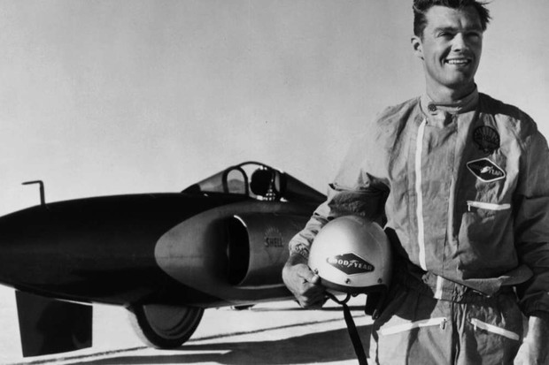 Land speed records - the cars and their drivers