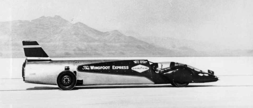 Land Speed Record >> Land Speed Records 18 Cars And Their Drivers Bbc Science