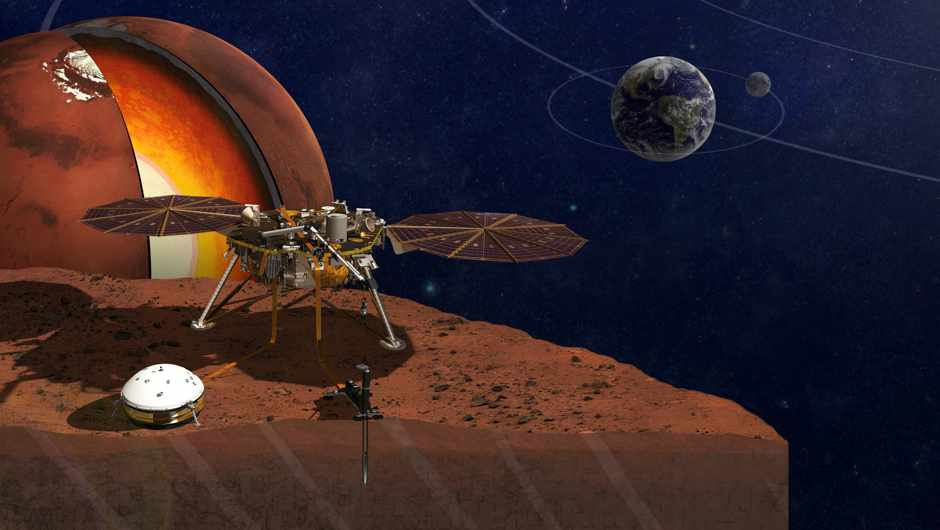 InSight: what NASA's mission to Mars could find inside the Red Planet © NASA/JPL-Caltech