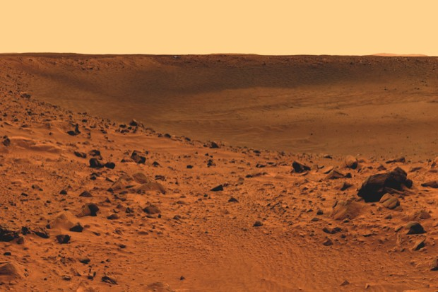 The Insight lander will be digging beneath the surface of Mars © NASA