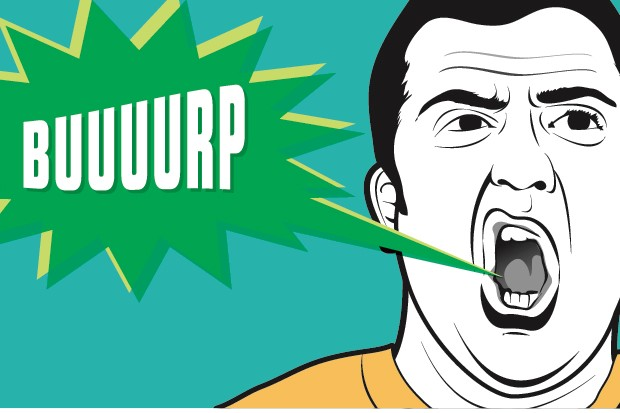 What happens in my body when i burp? © Peter Sucheski