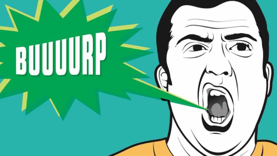 What happens in my body when i burp? ©Peter Sucheski