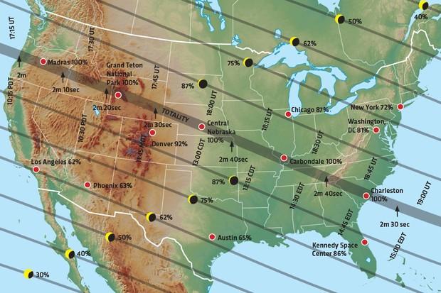 The Great American Solar Eclipse 2017 Science Focus Bbc Focus