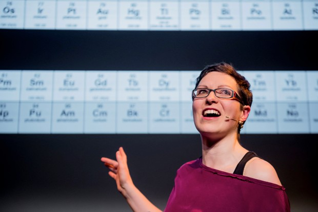 Helen Arney Periodic Table © Mihaela Bodlovic
