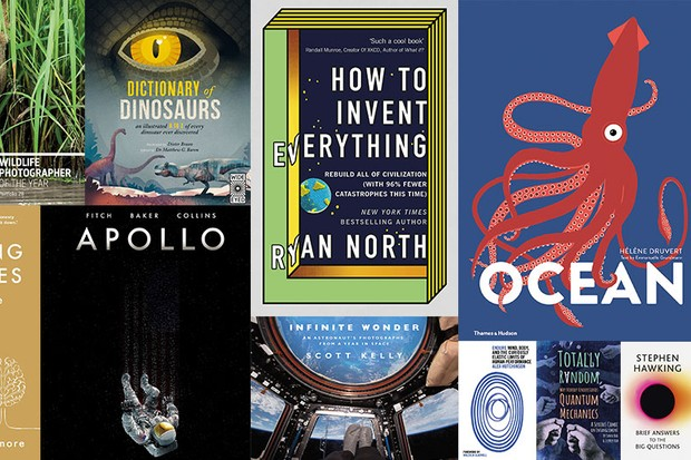 16 of the best science books from 2018