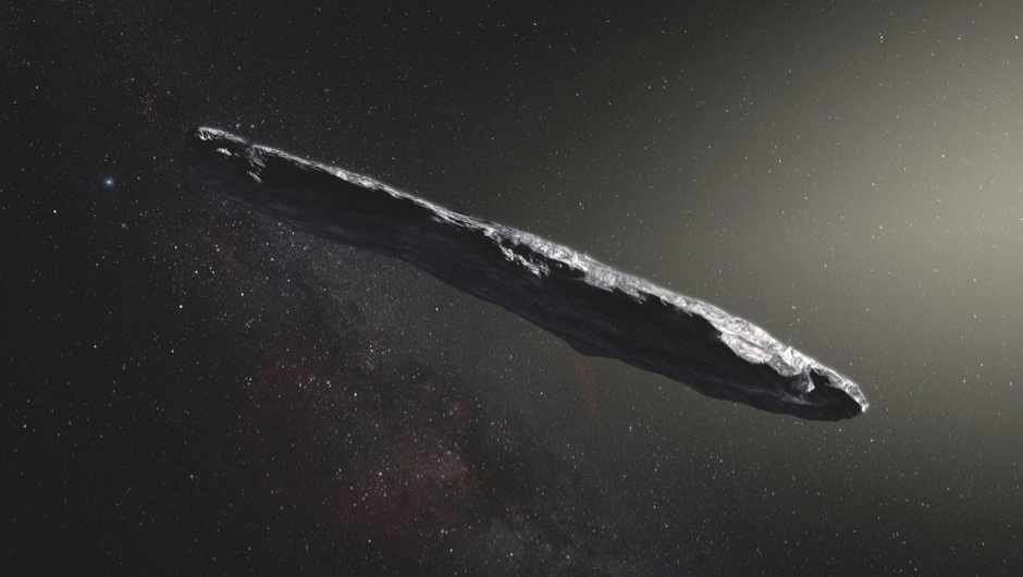 Could 'Oumuamua really be an alien probe? © ESO